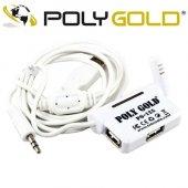 Polygold Pg 125 Yaka Mikrofon + 3 X Usb Çoklayıcı