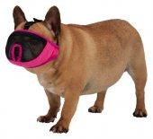 Trixie Kısa Burun Köpek Ağızlığı, S 20cm Pembe...