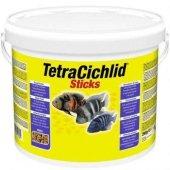 Tetra Cichlid Sticks Yem Kova 10 Lt (400 153691)(And 1050)