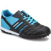 Kinetix Volky Turf Siyah Mavi Erkek Halı Saha Ayakkabısı
