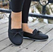 Servet Babet Siyah Kadın Ayakkabı
