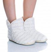 Twigy Omsk Nn0148 Kadın Panduf Ev Ayakkabısı Peluş...