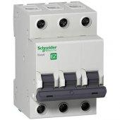 Schneider Electric Easy9 3 Ka C Eğrisi 3 Kutup 40a Otomatik Sigor