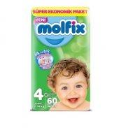 Molfix Bebek Bezi 4 Numara Beden Maxi Plus Fırsat Paketi 60 Adet