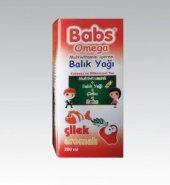 Babs Omega Multivitamin Balık Yağı Çilek Aromalı 200 Ml