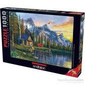 Anatolian Dağevinde Günbatımı 1000 Parça Puzzle