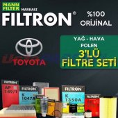 Toyota Corolla 1.33 Filtron Filtre Bakım Seti (200...