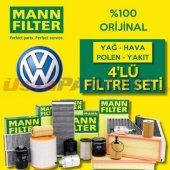 Vw Jetta 1.2 Tsı Mann Filter Filtre Bakım Seti (20...