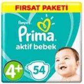 Prima Aktif Bebek 4+ Numara 54 Adet Fırsat Paketi ...