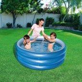 Bestway Üç Halkalı Metalik Çocuk Havuzu 51041+ 30 Cm Pompa