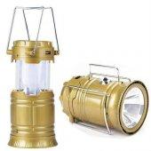 Tıger Güneş Enerjili Kamp Feneri 2 Fonksiyonlu Fen...