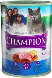 Champion Ton Balıklı Kedi Konservesi 12 Adet X 415 Gr