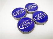 Ford Mavi 57mm Çelik Jant Göbek Kapağı