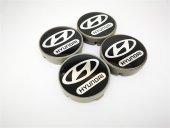 Hyundai Siyah 57mm Çelik Jant Göbek Kapağı