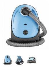 Nilfisk One Lbb10p05a Toz Torbalı Elektrikli Süpürge Mavi
