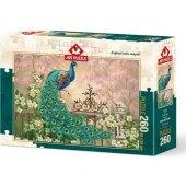 Art Puzzle Tavus Kuşu 260 Parça Puzzle