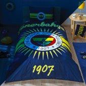 Taç Lisanslı Nevresim Tek Kişilik Fenerbahçe Parlayan Güneş
