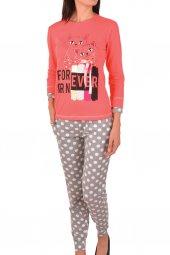Kadın Pijama Takımı Uzun