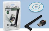 Antenli Wireless Adaptör 150 Mbps Wifi N 802.11n B G Pl 9333