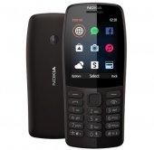 Nokia 210 Siyah Tuşlu Cep Telefonu(İthalatçı Garan...