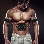 Smart Fitness Vücut Geliştirici Elektronik Karın Kası Kol Kemeri