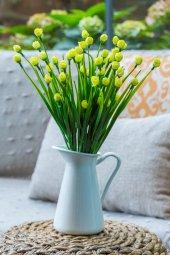 2 Demet Chetori To Sarı Yapay Çiçek
